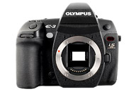 Olympus E3 with no lenses