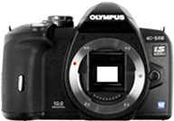 Olympus E510 with no lenses