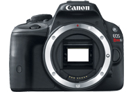 Canon EOS 100D with no lenses