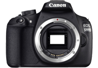 Canon EOS 1200D with no lenses