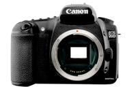Canon EOS 20D with no lenses