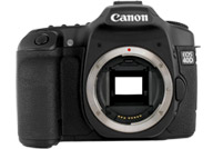Canon EOS 40D with no lenses