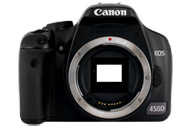 Canon EOS 450D with no lenses