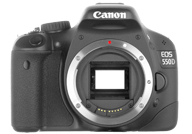 Canon EOS 550D with no lenses