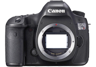 Canon EOS 5DS R with no lenses