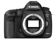 Canon EOS 5D Mark III with no lenses