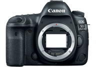 Canon EOS 5D Mark IV with no lenses