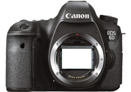 Canon EOS 6D with no lenses