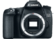 Canon EOS 70D with no lenses