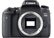 Canon EOS 760D with no lenses
