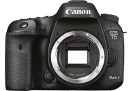 Canon EOS 7D Mark II with no lenses