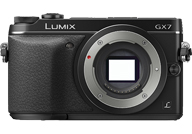 Panasonic Lumix DMC-GX7 with no lenses