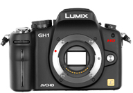 Panasonic Lumix DMC GH1 with no lenses