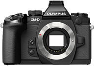 Olympus OM-D E-M1 with no lenses