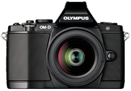Olympus OM-D E-M5 with no lenses