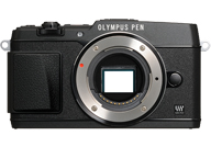 Olympus PEN E-P5 with no lenses