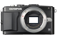 Olympus PEN E-PL5 with no lenses