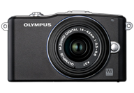 Olympus PEN EPM1 with no lenses
