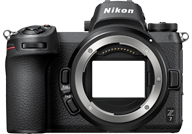 Nikon Z7 with no lenses