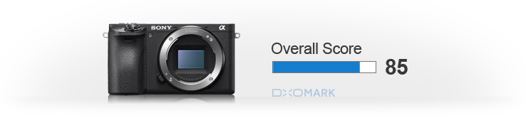 Sony A6500 overall score