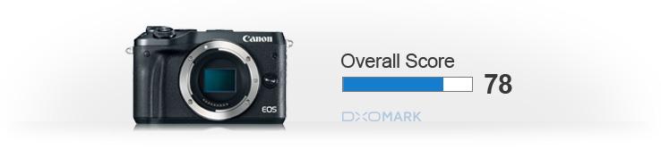 Canon EOS M6 overall score