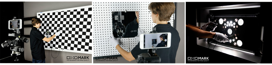 We used the DxO Analyzer solution to measure image quality.