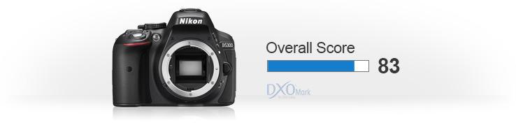 Nikon-D5300-dxomark-score