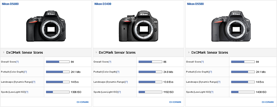 Nikon D5600 sensor review: Solid performer - DxOMark