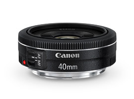 Canon EF 40mm f/2.8 STM: a fixed focal-length, full-frame pancake lens