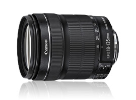 Canon EF-S 18-135mm f/3.5-5.6 IS STM: fast, stabilized, and video-compatible