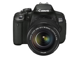 Canon EOS 650D: multitouch screen and hybridized autofocus