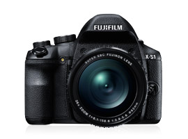 Fujifilm FinePix X-S1: an expert compact performance from a bridge-format camera