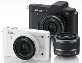 Nikon launches its first mirrorless cameras: the Nikon J1 and Nikon V1