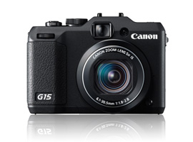 Preview of the Canon PowerShot G15