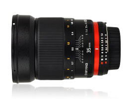 Samyang 35mm f/1.4 AS UMC Canon: Affordable everyday lens