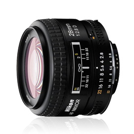 The Nikon AF Nikkor 28mm f/2.8D