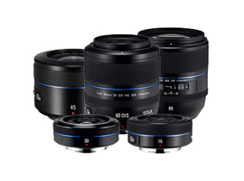 Samsung NX prime lens reviews: five models measured!