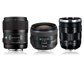 35mm prime lens round up