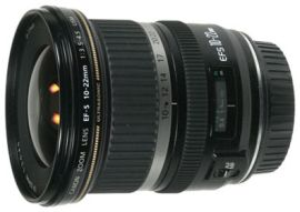 Canon EF-S 10-22mm f/3.5-4.5 USM measurements and review