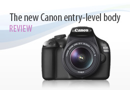 Canon EOS 1100D, DxOMark review for the new Canon entry-level body