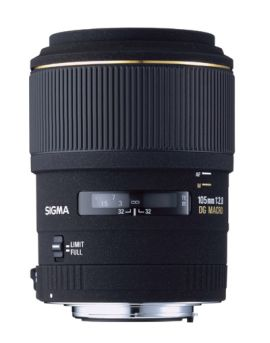 Sigma 105mm F2.8 EX DG Macro for Canon & Nikon mounts measurements and review