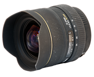Sigma 12-24mm f4.5-5.6 EX DG Review, more wide-angle lenses available!