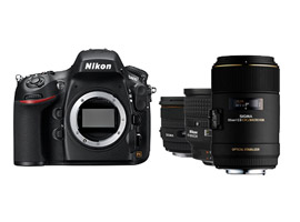 The Nikon D800 and standard lens choices