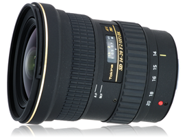 Tokina AT-X 14-20mm PRO f/2 Canon lens review: Top of the tree