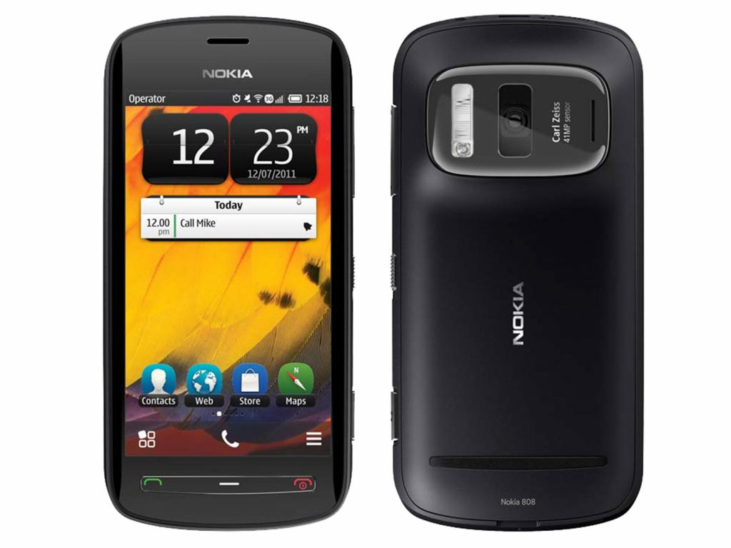 Image result for Nokia 808 Pureview (2012)