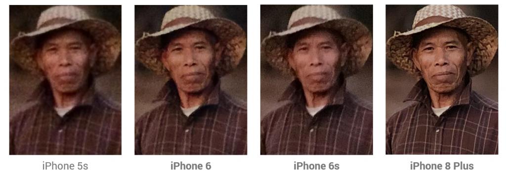 历代iPhone低光源下拍摄对比
