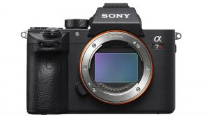 Sony A7R III showing sensor