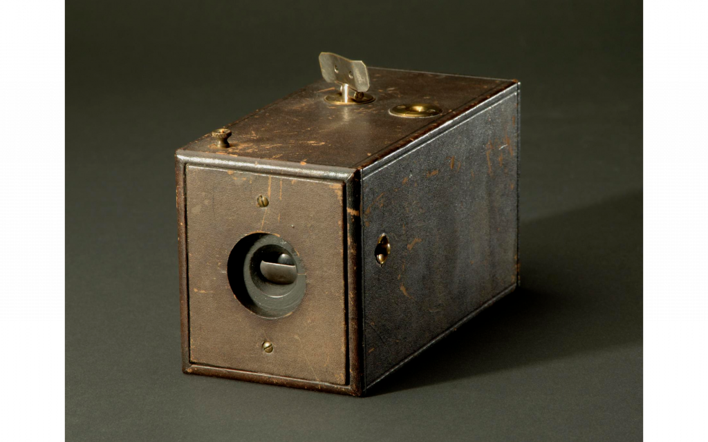 Eastman Kodak Camera, credit Mary I. Stroud, National Museum of History